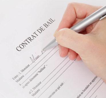 Les clauses du contrat de bail